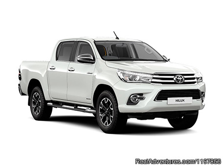 Car Rental - Toyota Hilux 4WD - Kota Kinabalu International Airport Car Rental