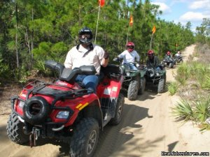 ATV Guided Tours in Ocala National Forest Ft. McCoy, Florida ATV Trips