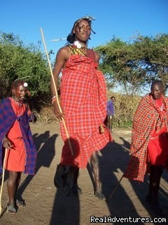 Masai Dancers (#7 of 17) - 14 Nights Safari in Kenya and Tanzania