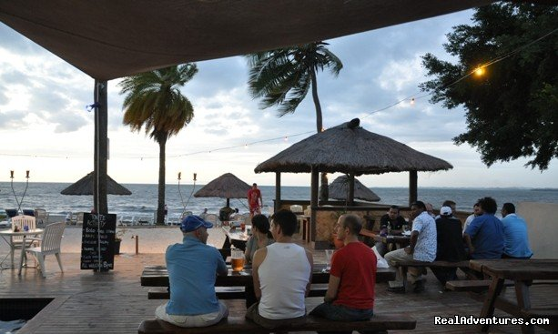 Outside deck overlooking the beach | Image #7/23 | The place to be... Smugglers Cove