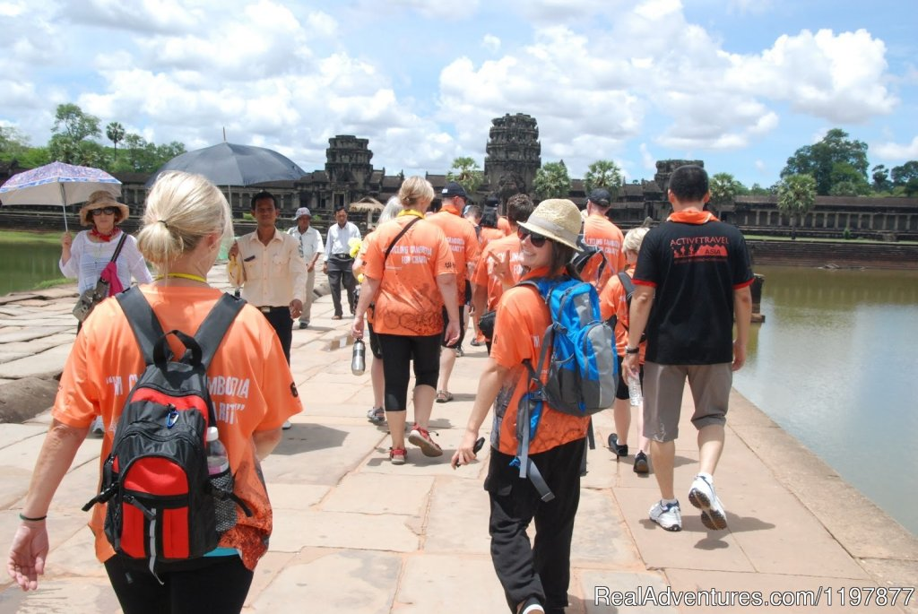 Cycling tours to explore Angkor Wat, Cambodia | Image #9/10 | Cycling to Coastal Cambodia 8 days