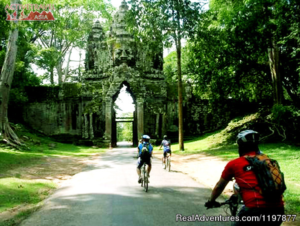 Cycling to explore Angkor Temples, Cambodia 7 days Cycling tours to explore Angkor Wat, Cambodia