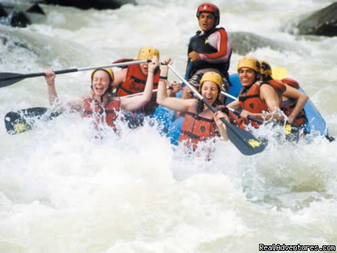 Bill Beard River Rafting Pacuare River Costa Rica: White Water On The Pacure River