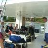 spacious Catamaran dive boat, costa rica