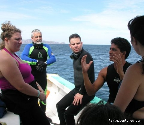 Socializing on the surface internval (#8 of 15) - History Of Scuba Diving & Adventure In Costa Rica