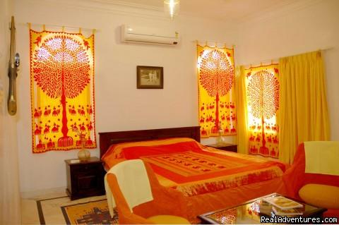 Saffron Chamber - Panna Vilas Palace