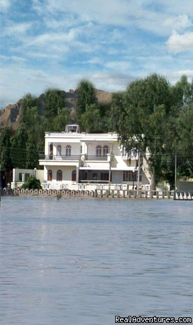 Water-Front Elevation - Panna Vilas Palace