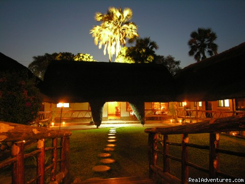 Ngolide Lodge & Livingstone / Victoria Falls Street View of Lodge