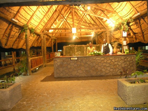Lodge Reception Area - Ngolide Lodge & Livingstone / Victoria Falls