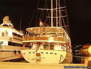 MY Barbara on night (#2 of 15) - Cruising in Croatia aboard MY Barbara