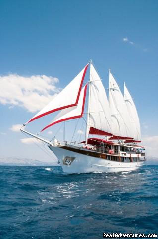 MY Barbara sailing (#13 of 15) - Cruising in Croatia aboard MY Barbara