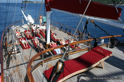 - Cruising in Croatia aboard MY Barbara