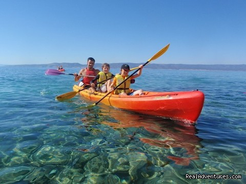 Adventure Croatia Week - Sea kayaking at Adriatic - Adventure Croatia Week