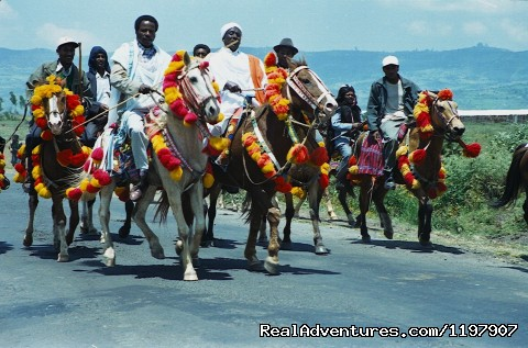 Ethiopian Tour and Sight-Seeing Oromo Horse men