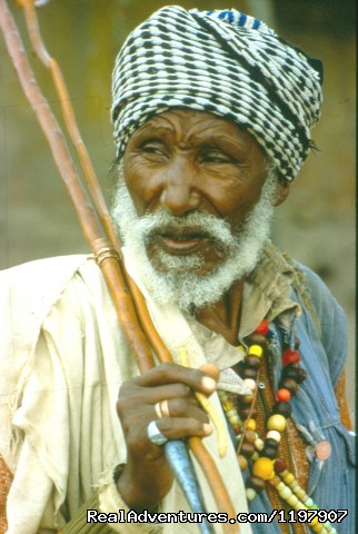An Oromo Old man - Ethiopian Tour and Sight-Seeing