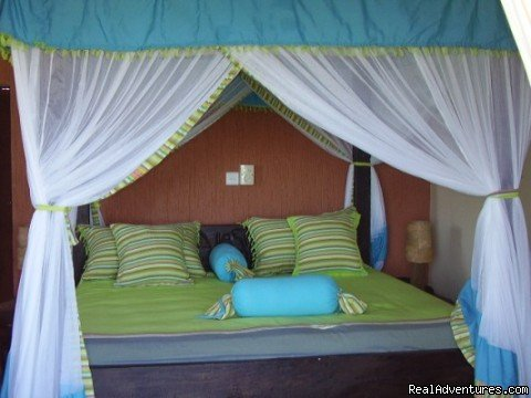 Bed Room with Swahili Interiors | Image #2/7 | New Hotel Suites at  Capricho Beach -Mombasa Kenya