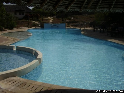 Swimming Pool - New Hotel Suites at  Capricho Beach -Mombasa Kenya