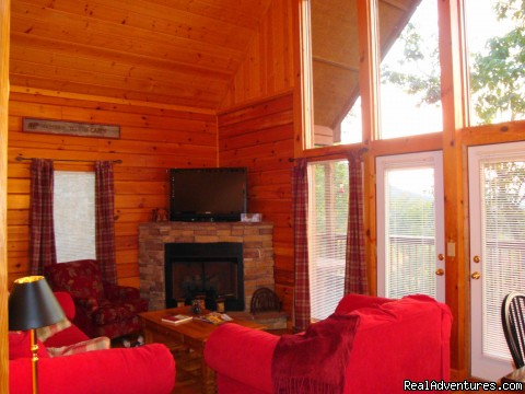 Main Living Area Queen Sleeper - Got It Al U'All - WIFI,Yr Rd Pool,Hotub,Jacuzzi,