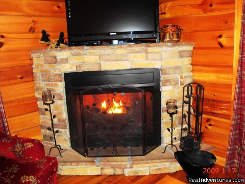 Beautiful Stacked Stone Fireplace - Got It Al U'All - WIFI,Yr Rd Pool,Hotub,Jacuzzi,