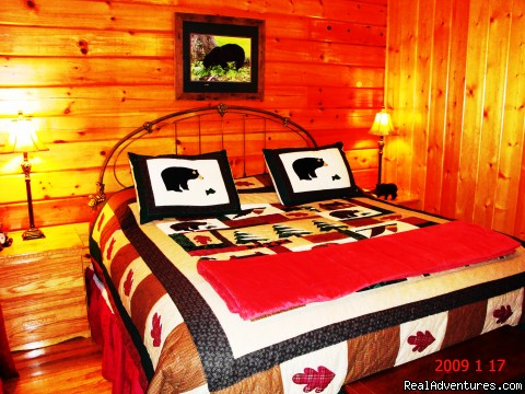 Bear Bedroom King Size  (#5 of 16) - Got It Al U'All - WIFI,Yr Rd Pool,Hotub,Jacuzzi,