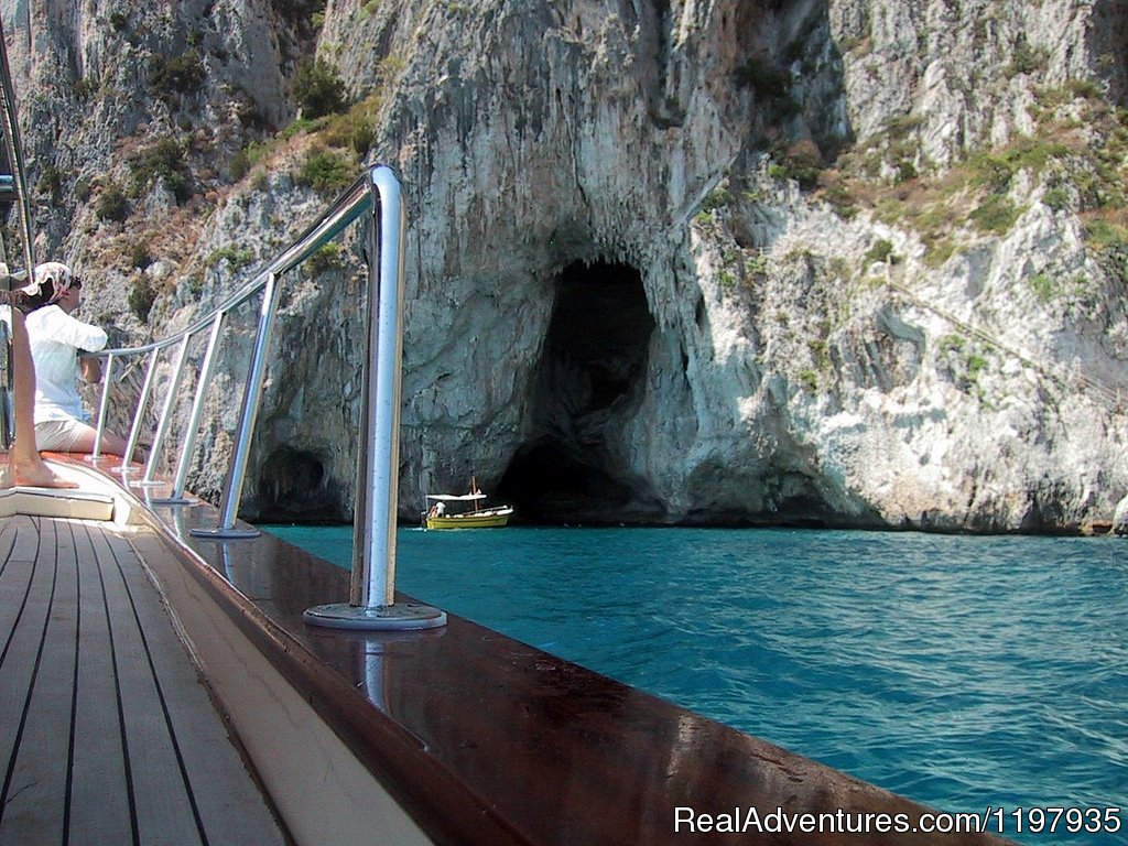 Capri Boat tour around the island