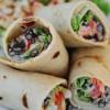 Delicious Vegetarian Burritos
