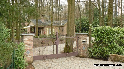 Romantic Lodge in Drongengoed Naturpark / Bruges  Ursel, Belgium Vacation Rentals