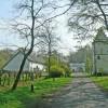 Romantic Lodge in Drongengoed Naturpark / Bruges  Ursel Entrance Drongengoed Estate
