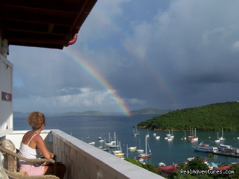 Hillcrest Guest House, St. John, US Virgin Islands: Front Suite Balcony