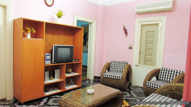 beautiful large renovated apartment Dokki / Cairo.