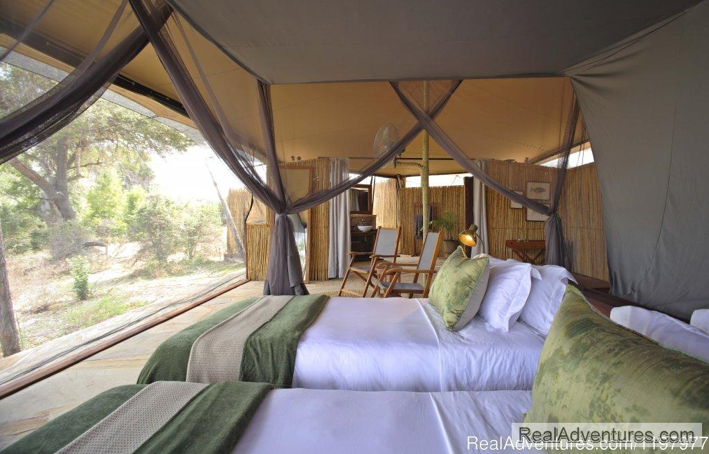 Luxury Tented Camp In Selous Gr | Image #1/20 | Zanzibar, Tanzania | Wildlife & Safari Tours | Uhuru Travel & Tours Ltd