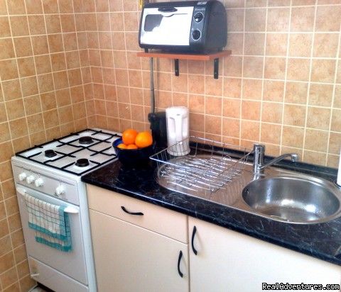 Guest Flat of Visit Eger Kitchen 1