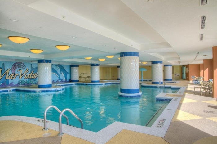 Indoor Pool | Image #18/25 | Mar Vista Grande 501 - Luxurious Oceanfront Condo