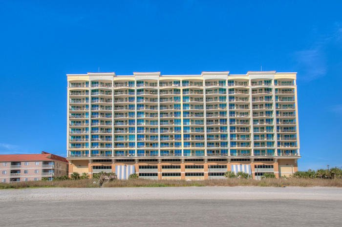 Exterior From Beach | Image #24/25 | Mar Vista Grande 501 - Luxurious Oceanfront Condo