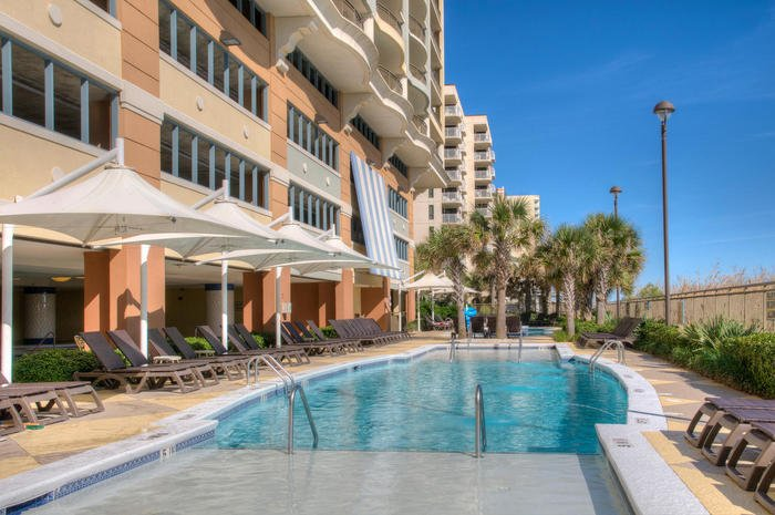 Oceanfront Pool | Image #4/22 | Mar Vista Grande 1016 - Luxurious OceanView Condo