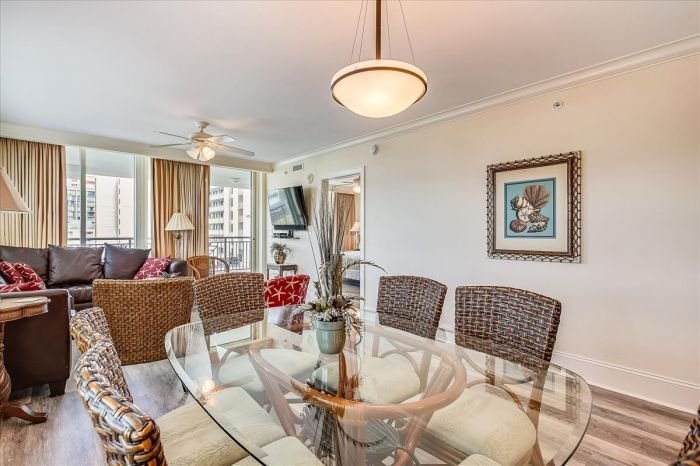 Dining Area | Image #5/25 | Mar Vista Grande 501 - Luxurious Oceanfront Condo