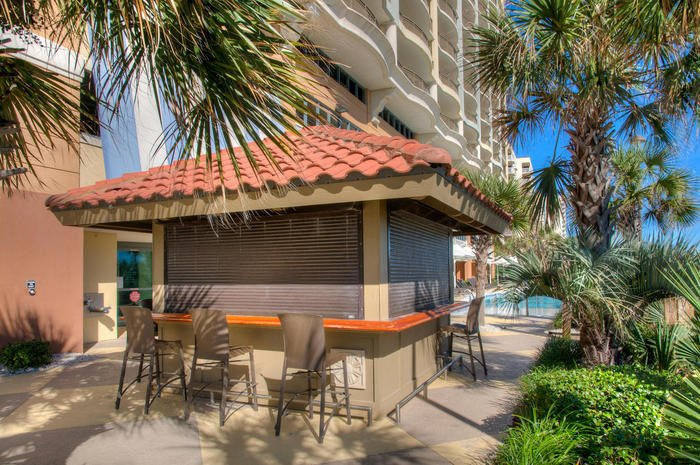Tiki Bar | Image #21/25 | Mar Vista Grande 501 - Luxurious Oceanfront Condo