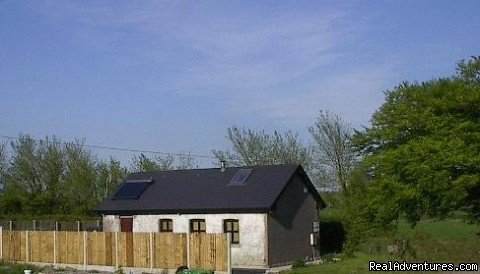 Solar panels on rear roof | Image #5/6 | East Cork Traditional Cottage