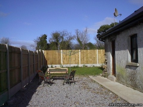 Sunny patio area (#3 of 6) - East Cork Traditional Cottage