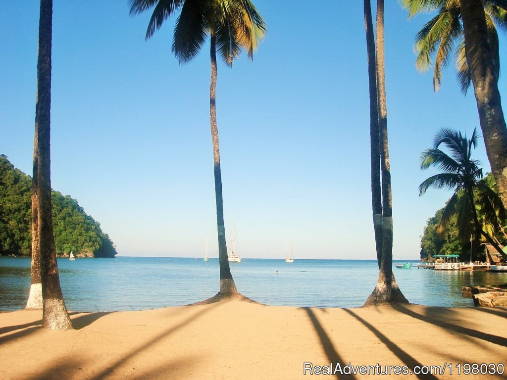 Labas Beach, a one minute walk from Mango Beach Inn | Image #18/26 | Mango Beach Inn, Adventure Lodge