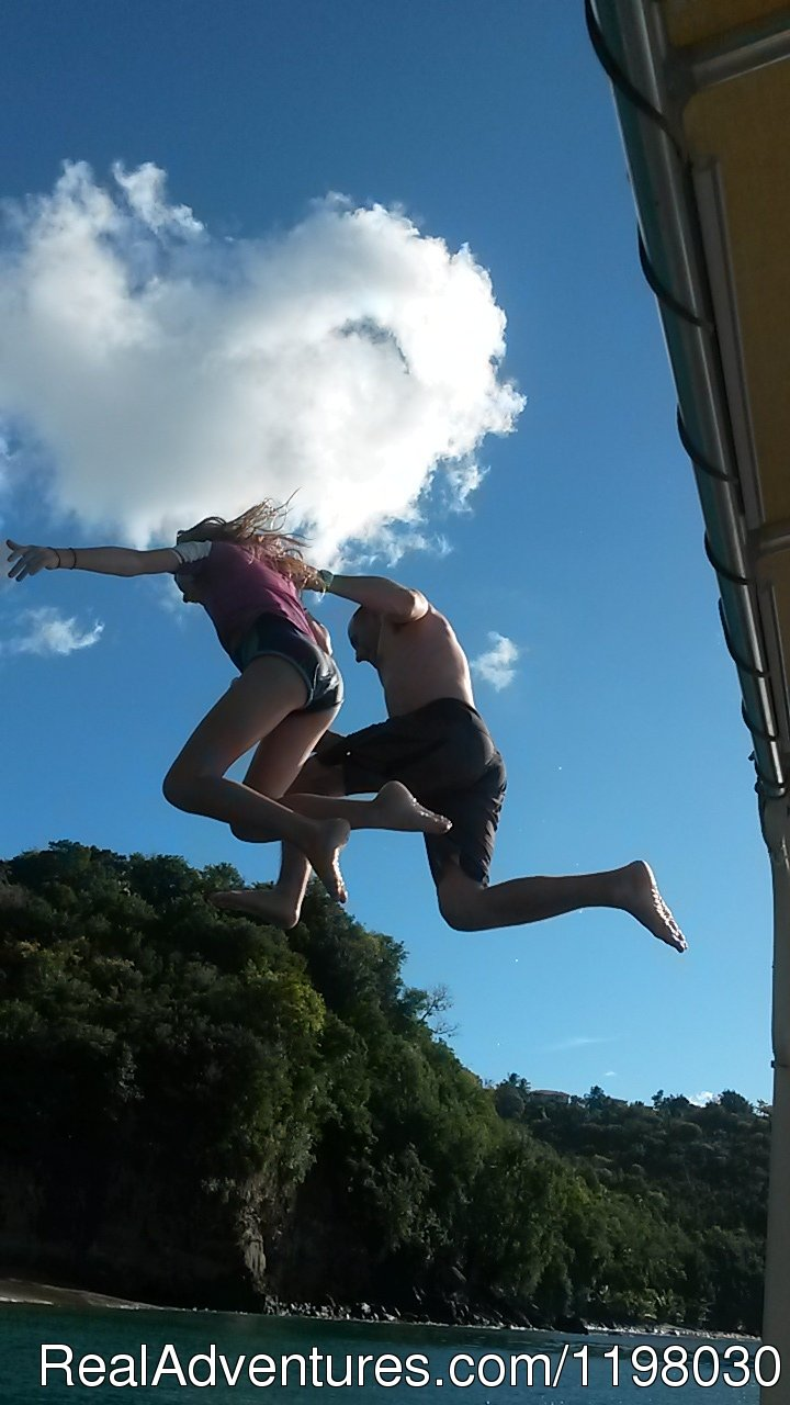 Take that leap | Image #26/26 | Mango Beach Inn, Adventure Lodge