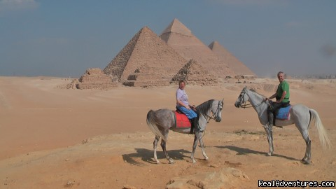 - Desert Horse Riding in the Shadow of the Pyramids