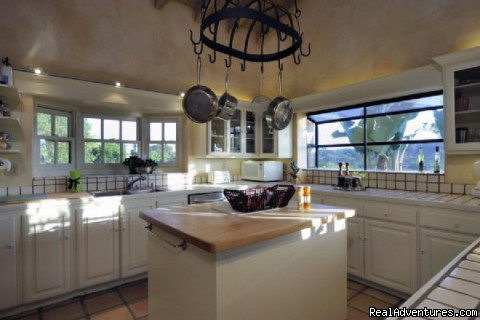 Chef's Kitchen with Canyon Views (#5 of 16) - Ocean Vacation Rental: Stunning Estate with Pool
