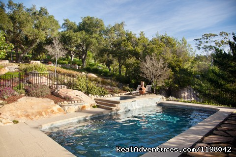 Pool and Jacuzzi With Waterfall - Ocean Vacation Rental: Stunning Estate with Pool