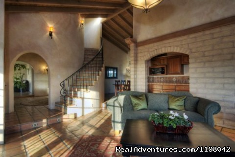 Spiral Staircase to Master Bedroom (#9 of 16) - Ocean Vacation Rental: Stunning Estate with Pool