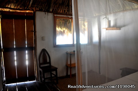 Interior Cabñas with private deck - Papaya Playa Jungle & Beach Paradise. Tulum