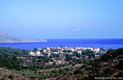 the village  25 kms from CHANIA ,west Crete - Crete chania  Village Near Beaches