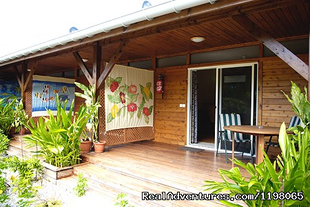 Pension BOUNTY  Rangiroa Paradise Atoll Deck room