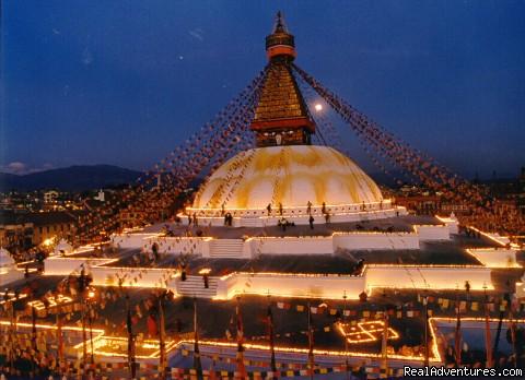 Boudhanath Stupa - Nepal Culture Tour