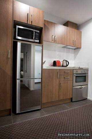 Full Kitchen Facilities - St Martins Waldorf Apartments Hotel